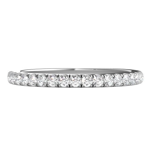 1/4 ct. tw. ALTR™ Created Diamond Band in 14K White Gold