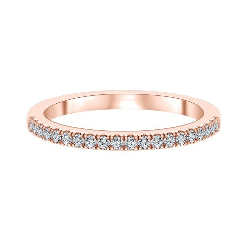 1/5 ct. tw. ALTR™ Created Diamond Band in 14K Rose Gold