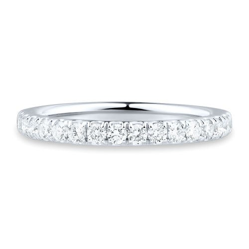 Light Heart® 1/2 ct. tw. Lab Grown Diamond Band in 14K White Gold