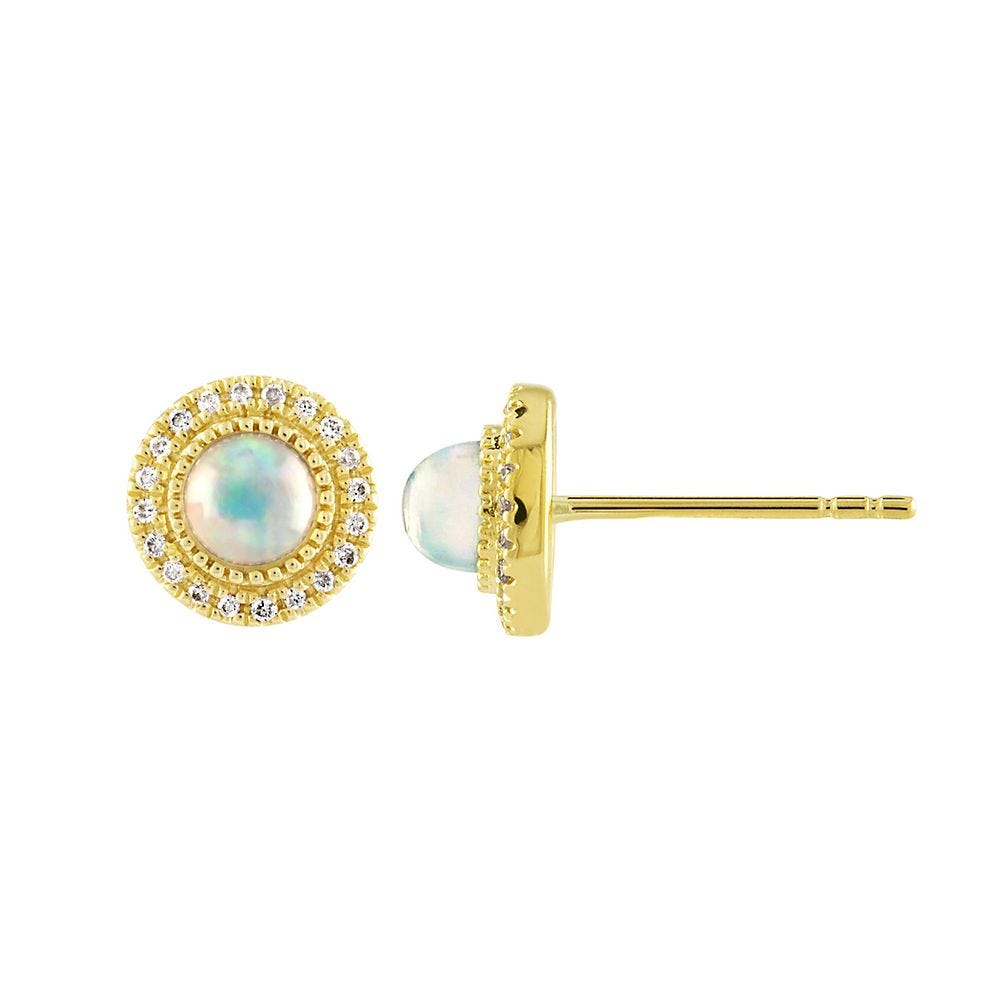 Details about  /10K GOLD 1 1//4  CT OVAL BLUE TOPAZ HALO DIAMOND EARRINGS IN 3 GOLD COLORS