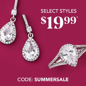 SELECT STYLES $19.99