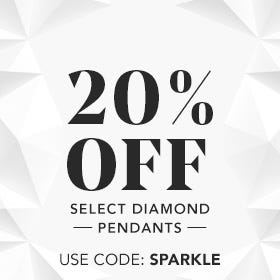 20% OFF SELECT DIAMOND PENDANTS