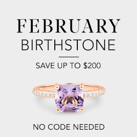 February Birthstone, Save up to $200