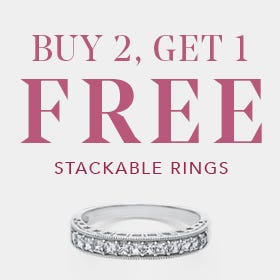 Buy 2 Get 1 Free Stackable Rings