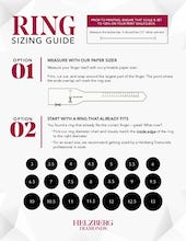 graphic about Ring Size Printable identified as How in the direction of Come across Your Ring Sizing - Ring Dimension Marketing consultant Helzberg Diamonds